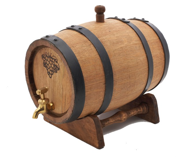 12 Litre American Oak Port Barrel